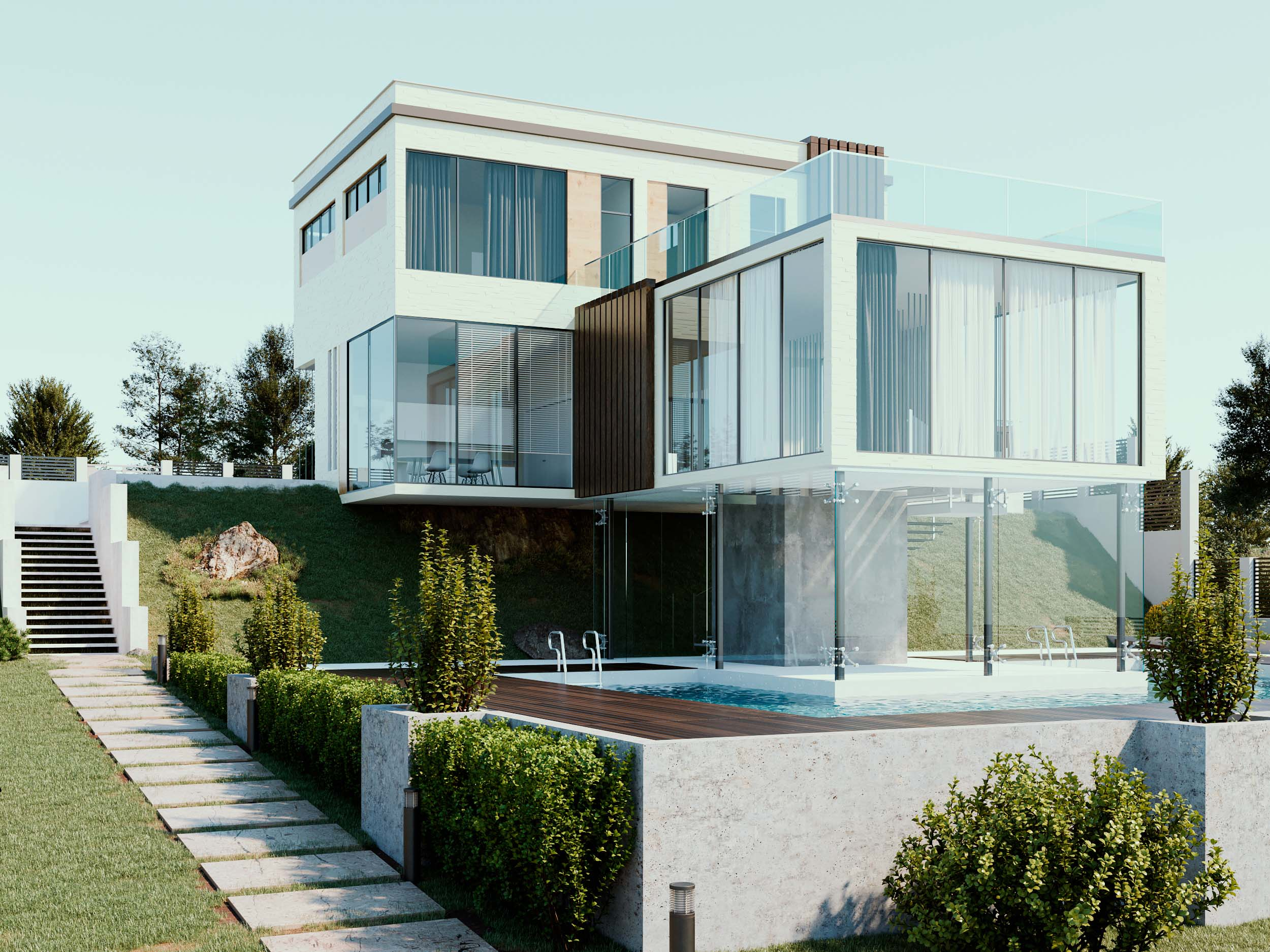 Architectural project of private house