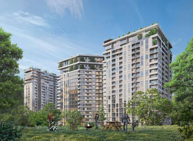 Multi-apartment residential complex in Krtsanisi
