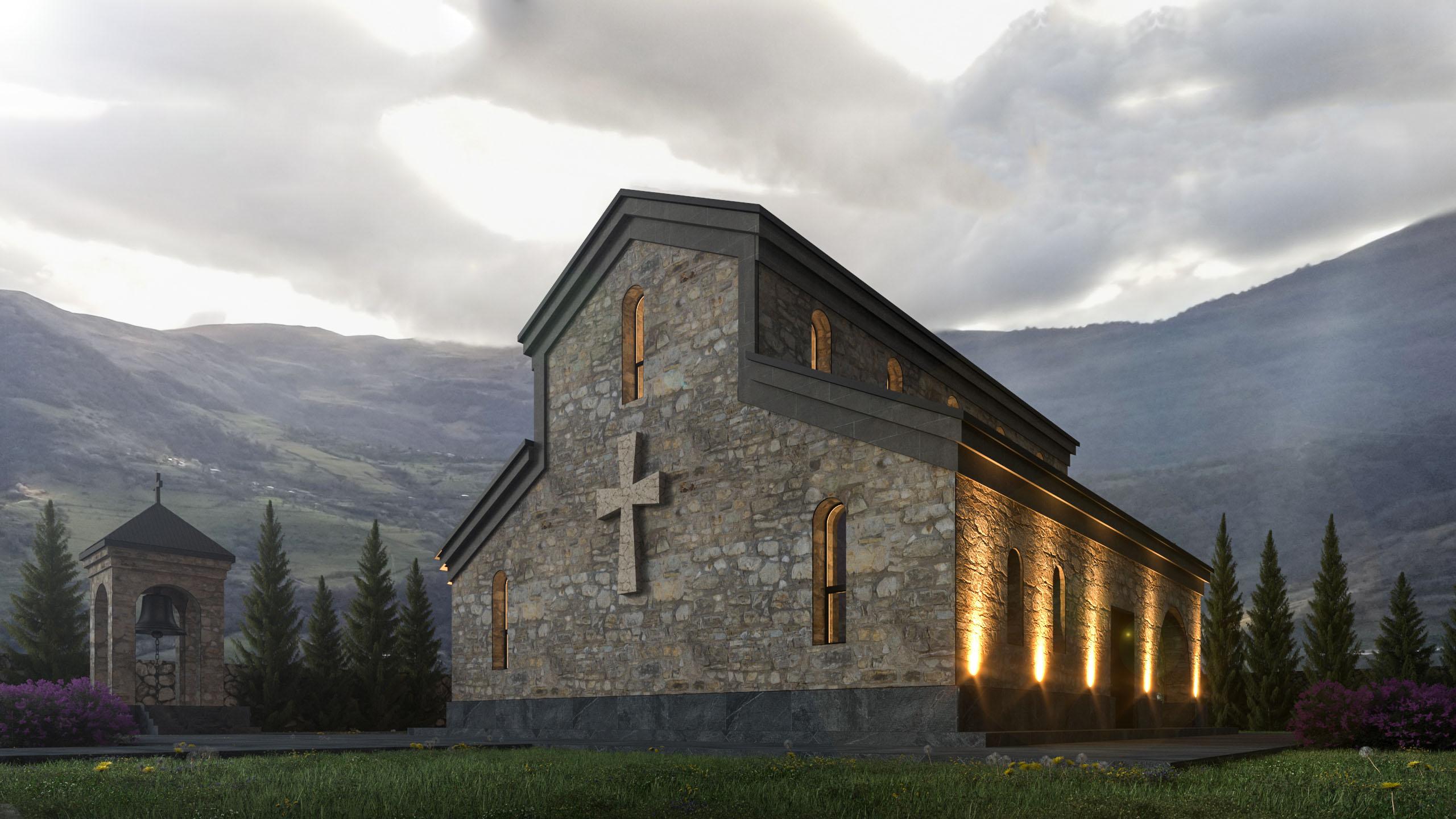 Храм в регионе Мцхета-Мтианети